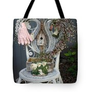 A Gardner's Welcome Tote Bag