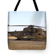 A German Ch-53gs Helicopter At Stendal Tote Bag