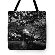 A Ghost In The Cherry Blossoms Tote Bag