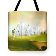 A Ghost Of A Chance Tote Bag