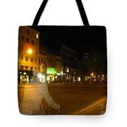 A Ghost Of Antwerp. Belgium. Tote Bag