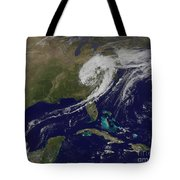 A Giant Swirl Of Clouds Tote Bag