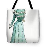 A Gibson Girl, 1899 Tote Bag