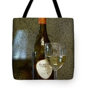 A Glass For Dinner Tote Bag