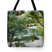 A Glimpse Of Tranquility Tote Bag