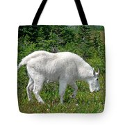 A Goat In The Meadow Tote Bag