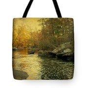 A Golden Autumn At The Unami Tote Bag