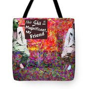 A Good Trip Downtown Tote Bag
