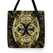 A Gothic Guise Of Gold Tote Bag