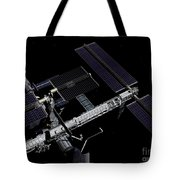 A Graphic Rendering Tote Bag