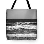 A Gray November Day At The Beach - II  Tote Bag