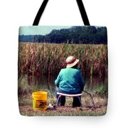 A Great Day Fishing Tote Bag