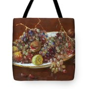 A Greek Summer Plate Tote Bag by Ylli Haruni