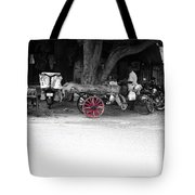 A Hawker On The Street Tote Bag