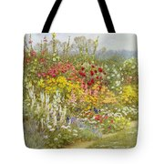 A Herbaceous Border Tote Bag