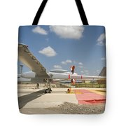 A Heron Tp Unmanned Aerial Vehicle Tote Bag