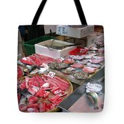 A Hong Kong Fishmonger Shop Tote Bag