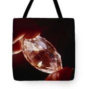 A Huge Nine-carat Diamond Glistens Tote Bag