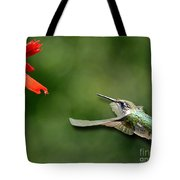 A Hummingbird With Dimension Tote Bag