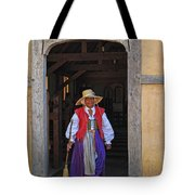 A Jamestown Colonist Tote Bag