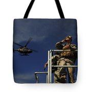 A Joint Terminal Attack Controller Tote Bag