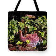 A Kettle Of Greens Tote Bag