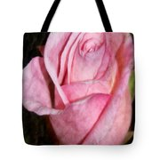 A Kiss By A Rose Tote Bag