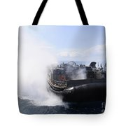 A Landing Craft Air Cushion Travels Tote Bag