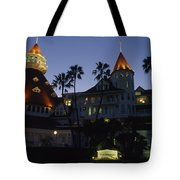 A Late Afternoon View Of The Hotel De Tote Bag