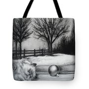 A Lazy Winter Day Tote Bag