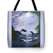 A Leap Of Faith Tote Bag by Judy M Watts-Rohanna