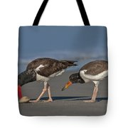 A Lesson In Fine Dinning Tote Bag by Susan Candelario