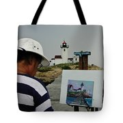 A Light Artist Tote Bag