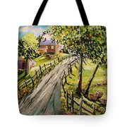 A Light Summer Breeze Tote Bag