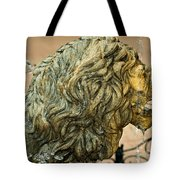 A Lion In Summer Tote Bag