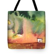 A Little House On Planet Goodaboom Tote Bag