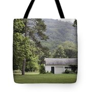 A Little White House Tote Bag