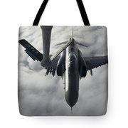 A Luftwaffe F-4f Phantom II Approaches Tote Bag
