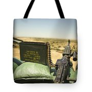 A M240b Medium Machine Gun Tote Bag