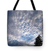 A Mackerel Sky Tote Bag
