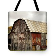 A Mail Pouch Barn In West Virginia Tote Bag