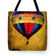 A Man And His Balloon Tote Bag by Bob Orsillo