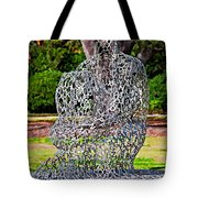 A Man Of Letters Tote Bag