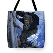 A Marine From The Uganda People's Tote Bag