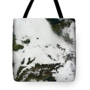 A Massive Cloudbank Sprawled Tote Bag