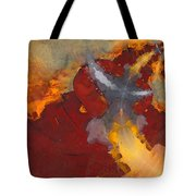 A Meeting Of Monks Tote Bag