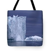 A Midnight Cruise Around The Ilulissat Tote Bag