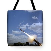 A Mim-104 Patriot Anti-aircraft Missile Tote Bag
