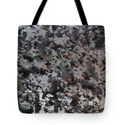 A Mob Of Red-winged Blackbirds Tote Bag