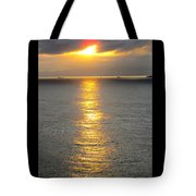 A Moment In Red And Gold Please Open Tote Bag